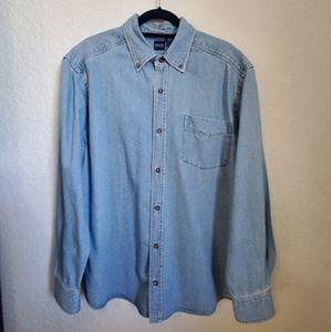 Basic Editions Short Sleeve Brown 100/% Cotton Button Down Shirt Men/'s 2XL NWT